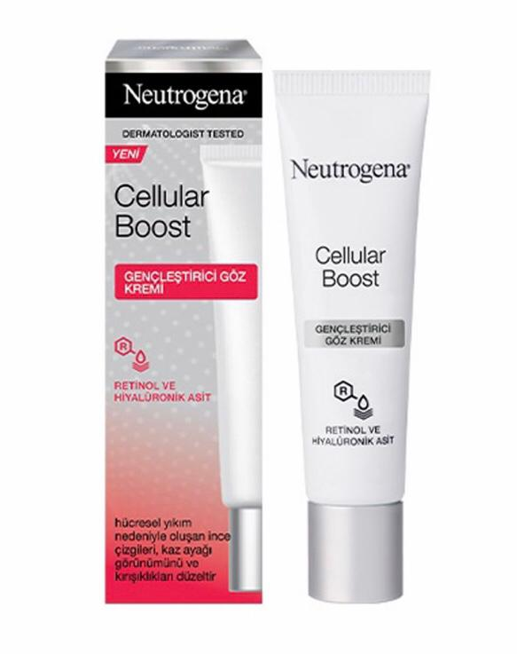 کرم ضدچروک و جوانکننده دورچشم سلولار بوست Neutrogena